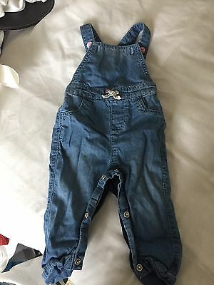 Mothercare Baby Girl Dungarees 3-6 Months