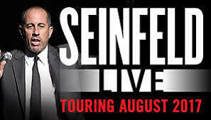 Jerry Seinfeld August 11th - ICC Theatre Darling Harbour Sydney - 2 tickets