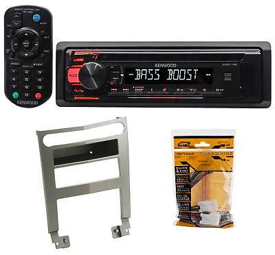 Kenwood CD Receiver Aux/Mp3/WMA/3-Band Eq+Remote For 2004-2006 Nissan Maxima
