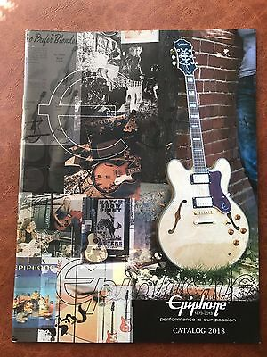 2013 Epiphone Catalog From Japan .