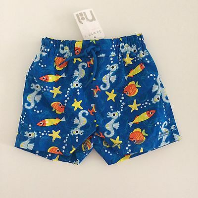 Mothercare Baby Boy Swimming Shorts Bottoms, Size 3-6 Months