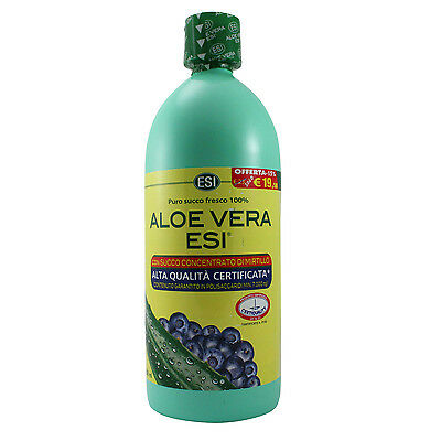ESI Aloe vera - con succo di mirtillo - 500ml