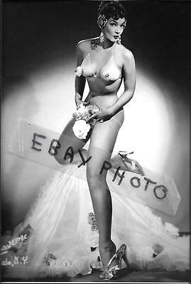 """IRMA THE BODY burlesque performer pinup 4"""" X 6"""" NUDE/RISQUE PHOTO PRINT #14"""