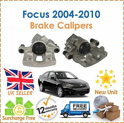 For Ford Focus 1.4 1.6 1.8 2.0 2004-2010 Rear Right & Left Brake Calipers New