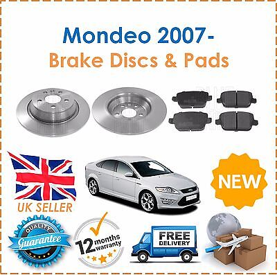 OEM SPEC REAR DISCS PADS 302mm FOR FORD MONDEO 1.6 2007-13