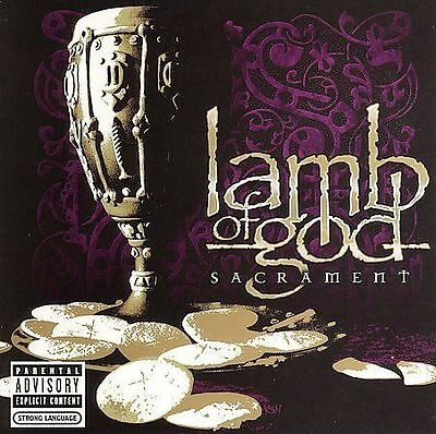 STICKER ON REAR CASE! Sacrament [PA] by Lamb of God (CD, Aug-2006, Epic (USA))
