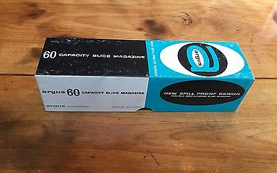 Argus 60 Capacity Slide Magazines In Original Boxes 39 Available