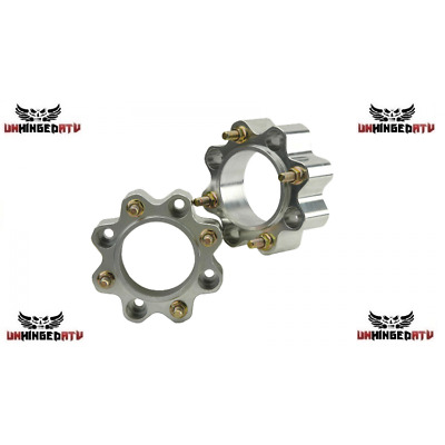 Tusk Aluminum Rear Wheel Spacers 30mm Polaris Sportsman 800 05-14 4x4 EFI HO