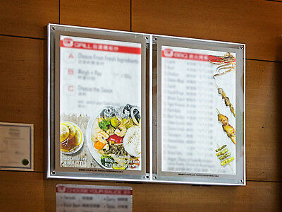 Clear Acrylic Backlit Illuminated LED Poster Frame (Single-Side - 30 in x 40 in)