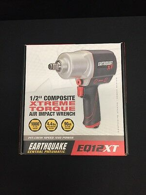 Earthquake EQ12XT Extreme Torque Air Impact New In Box