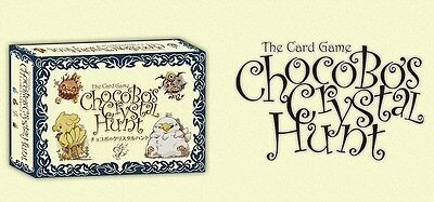 Final Fantasy Chocobo's Crystal Hunt: The Card Game - New, Sealed, English