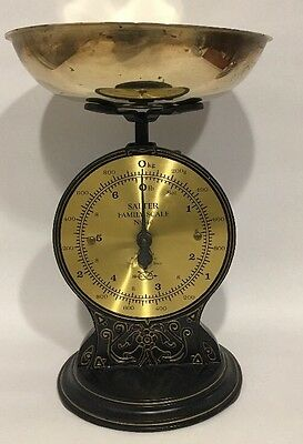 Vintage Salter Family Scale No. 46 Great Condition UK Registered No. 2011373