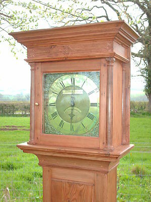 Georgian Grandfather / Longcase Clock By Jackson Of Hexham