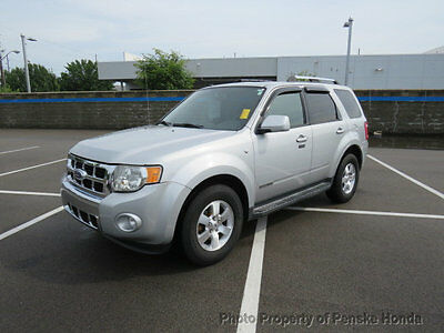 2008 Ford Escape 4WD 4dr V6 Automatic Limited 4WD 4dr V6 Automatic Limited SUV Automatic Gasoline V6 Cyl GRAY