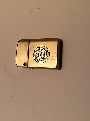 Gold Tone Total Electric Award Lighter From Public Service Company Tulsa Oklahom