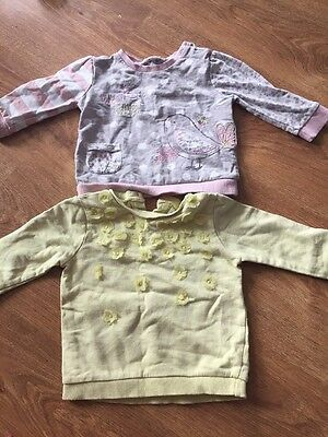 F&F Baby Girl Jumpers Age 6-9 Months