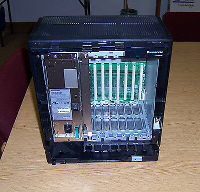 Panasonic KX-TDA100 System Cabinet w/ Power Supply