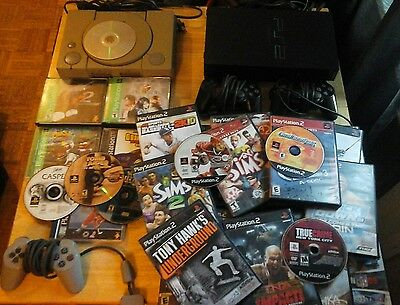 ps1 ps2 system  game  lot  over 25 games free shipping