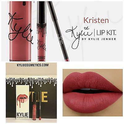 AUTHENTIC❤Kylie Kristen Matte Liquid Lipstick & Lip Liner/Boxed❤Ready to Post❤