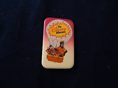The Disney Afternoon Promotional Pin Button Talespin Ducktales Chip Dale Gummi