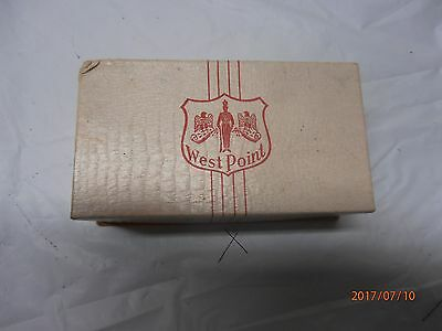Vintage West Point Military Brush Set with a Great Design in Original Box
