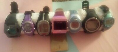 lot of 7 digital wristwatches
