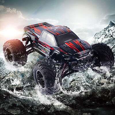 New 9115 1:12 2.4Ghz Off Road RC Car 2WD Remote Control Truck Rock Buggy Red