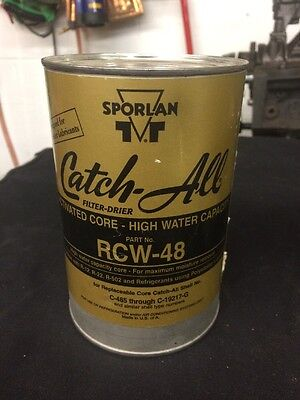 SPORLAN FILTER DRIER CATCH ALL ELEMENT RCW-48 *ORIGINAL PACKAGE* 2-cans