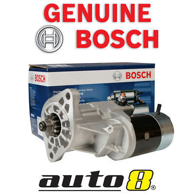 New Genuine Bosch Starter Motor to fit Toyota Landcruiser Bundera 4.2L Diesel