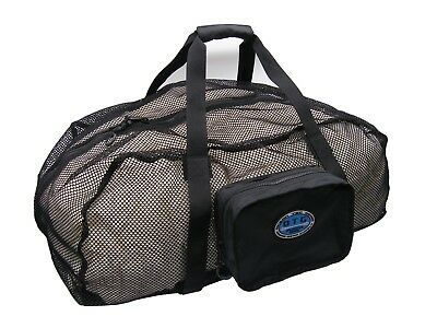 OTG Scuba Diving / Snorkeling Foldable Pocketable Mesh Duffel Gear Bag #OG-151