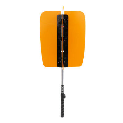 Golf Swing Power Fan Golf Trainning Aids Practice Guide Trainer Tool Orange