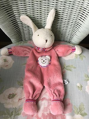 Jellycat Kitten Peejay Bunny Rabbit Blankie Comforter Soother Soft Hug Toy Pink