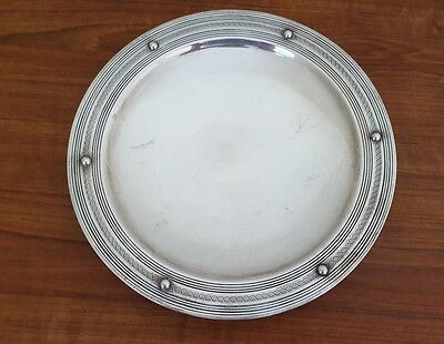 Sterling Silver Footed Platter (Charter Co. - International Silver 1930-42?)