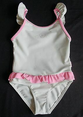Baby girl swimming costume swim bathing 18-24 months green