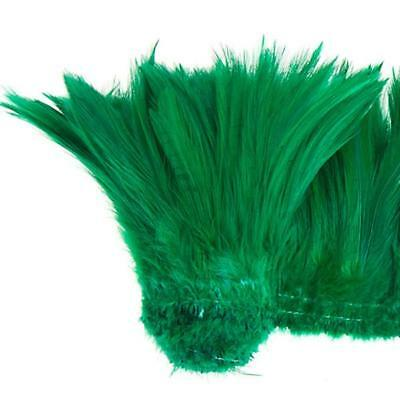 "Coque Hackle 4"" - 6"" Emerald"
