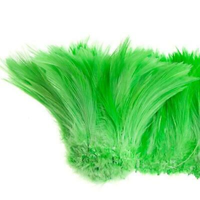 "Coque Hackle 4"" - 6"" Lime Green"