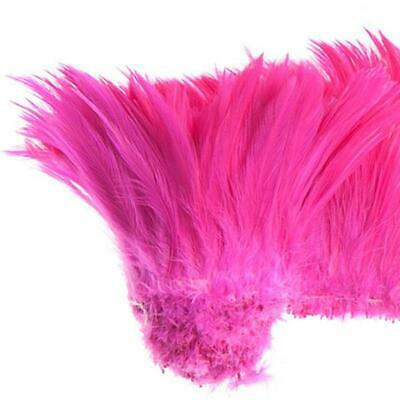 "Coque Hackle 4"" - 6"" Pink"
