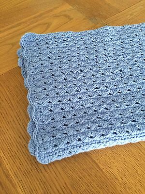Hand Made Crocheted Baby Blanket