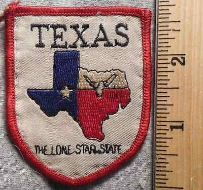 Texas The Lone Star State Patch (State, Souvenir)
