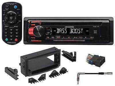 1997-02 Chevrolet Chevy Camaro Kenwood CD Receiver Aux/Mp3/WMA/3-Band Eq+Remote