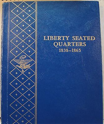 Whitman Liberty Seated Quarter 2 Album Set Nice Used Condition Free Shipping