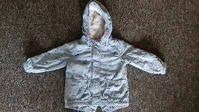 Girls coat - 12-18 months - Next excellant condition