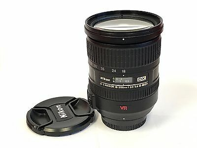 Very Good Nikon Nikkor AF-S 18-200mm f/3.5-5.6 AF-S VR DX IF G ED Lens