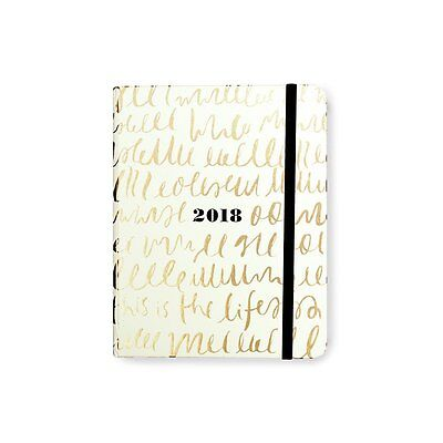 Kate Spade New York 2017 - 2018 Medium Agenda - This is the Life - FREE SHIPPING