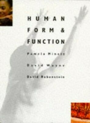 Human Form and Function by Rubenstein, David Paperback Book The Cheap Fast Free