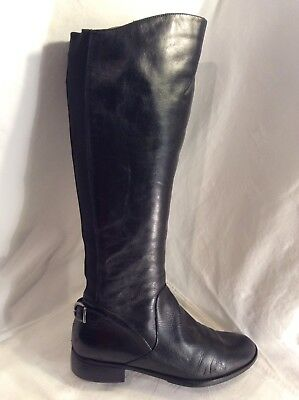 jones knee high boots leather brown size 6 163 7 15