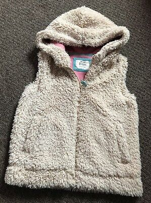 Mini Boden Girls Fleece Gilet 5-6 Years