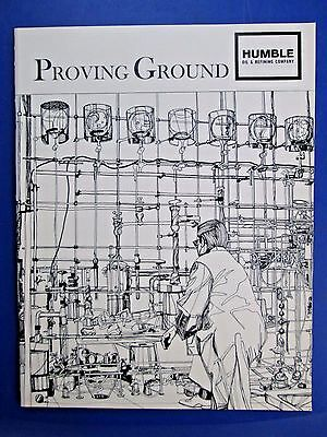 1968 Humble Oil and Refining Co. Proving Ground Company Testing Info SC Book