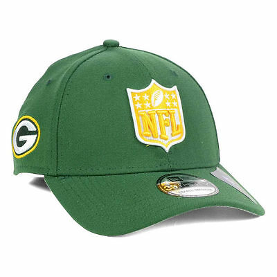 Green Bay Packers New Era NFL Shield Team Logo Fantasy Football Cap Hat  Rodgers a0b5961e0