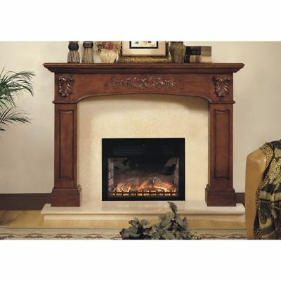 Oxford Hand-carved Wood Mantel